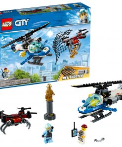 LEGO City Police Sky Police Drone Chase 60207 Police Helicopter Set