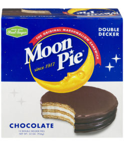 Moon Pie Double Decker Chocolate Marshmallow Sandwich, 2.75 Oz., 12 Count