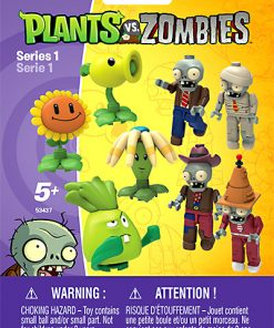 Series 1 Minifigures Plants vs. Zombies Series 1 Mystery Pack