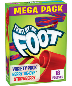 Fruit by the Foot, Berry & Strawberry, 18 ct, 0.8 oz