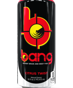 (12 Cans) Bang Citrus Twist Energy 16 fl oz