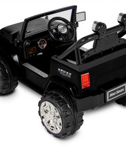 Kid Trax Fun Chaser 6V Battery Powered Ride-On, Black