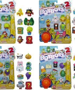 Transformers Toys BotBots Series 3 Fresh Squeezes 8-Pack