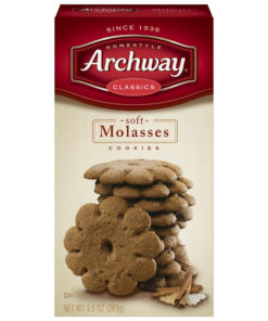 Archway Molasses Classic Soft Cookies, 9.5 Oz