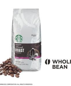Starbucks Dark Roast Whole Bean Coffee — French Roast — 100% Arabica — 1 bag (20 oz.)