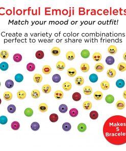 Creativity for Kids Emoji Bracelet Craft Kit