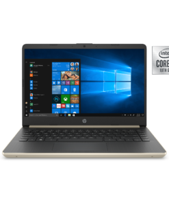 Hp 14 Laptop, Intel Core i5-1035G1, 8 GB SDRAM, 256GB SSD+16GB Optane, 14-dq1040wm, Pale Gold