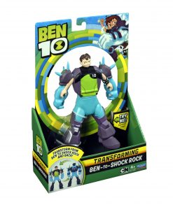 BEN 10 BEN TO SHOCK ROCK TRANSFORMING FIGURE