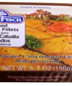 Smoked Mackerel Fillets (RugenFisch) 6.7 oz (190g)