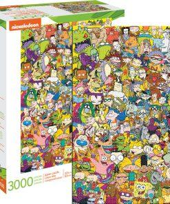 Aquarius Nickelodeon Cast 3,000pc Puzzle
