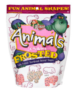 Keebler Frosted Animal Shortbread Shape Cookies 13 oz