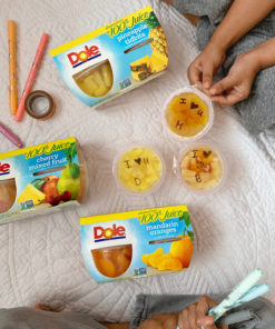 Dole Fruit Bowls Mandarin Oranges in 100% Fruit Juice, 4 Oz Bowls, 12 Cups of Fruit