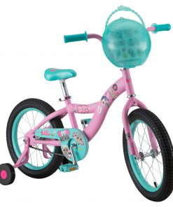LOL Surprise kids bike, 16-inch wheel, single speed, pink