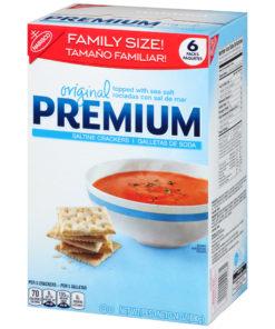 Premium Original Saltine Crackers, 24 oz