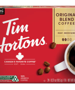 Tim Hortons Original Blend K-Cup Coffee Pods Medium Roast 24 Count for Keurig Brewers