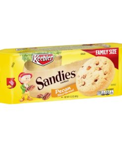 Keebler Sandies Pe can Shortbread Cookies 17.2 oz