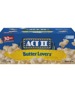 Product of Act II Butter Lovers Microwave Popcorn (3 oz., 30 bags) – Popcorn [Bulk Savings]