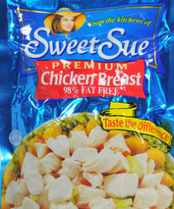 (2 Pack) SWEET SUE Chicken Breast, Gluten Free Snack, High Protein Snacks, 7oz Pouch
