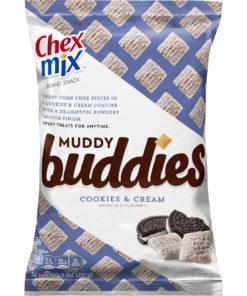 Chex Mix Muddy Buddies, Cookies and Cream, 10.5 oz