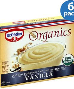 Dr. Oetker Vanilla Pudding Mix, 3.8 oz, (Pack of 6)