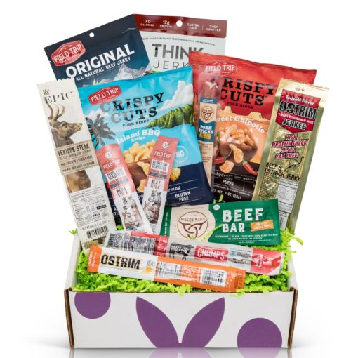 Bunny James Jerky Sampler Box Gift Box, 12 Count