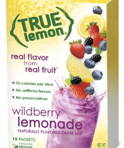 (3 Pack) True Lemon Drink Mix, 1.06 Oz, Wildberry Lemonade, 10 Packets (Pack of 1)