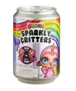 Poopsie Sparkly Critters 6″ Figures That Magically Poop or Spit Slime