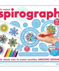 Spirograph Kit With Markers, Precision Wheels, Rings, Paper & More