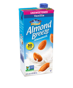 (3 pack) Almond Breeze Unsweetened Vanilla Almond Milk, 32 fl oz