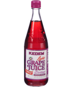 Kedem Juice, Lite Grape, 22 Fl Oz, 12 Count
