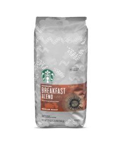 Starbucks Medium Roast Whole Bean Coffee — Breakfast Blend — 1 bag (20 oz.)