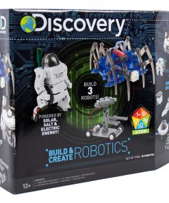 Discovery Build & Create Robotics Kit, STEM, D.I.Y. Robots, 8+