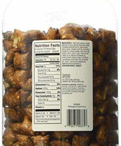 HK Anderson Peanut Butter Filled Pretzel Nuggets, 44 Oz. Canister