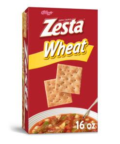 Keebler Zesta Saltine Crackers Wheat 16 Oz