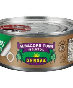 (3 Pack) Genova Albacore Tuna in Olive Oil, 5 oz