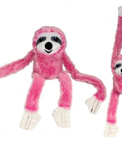 #PlushPals 27″ Sloth Stuffed Animal Plush Toy Soft & Fluffy – Pink