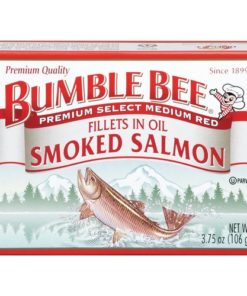 (2 Pack) Bumble Bee Premium Smoked Coho Salmon in Oil, 3.75oz Can
