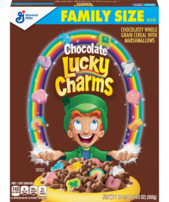 Chocolate Lucky Charms, Marshmallow Cereal, 19.5 oz