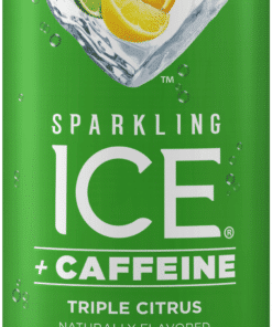Sparkling Ice® + Caffeine Triple Citrus, 16 Fl Oz Can, 12 Count