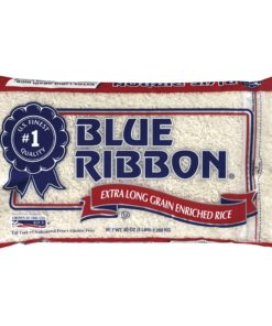 Blue Ribbon Extra Long Grain Enriched Rice, 5-Pound Bag