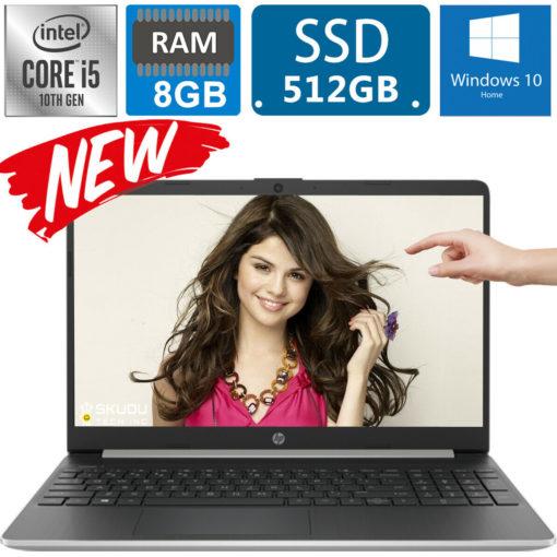 HP 15.6″ Touch Screen 10th Gen Intel i5-1035G1 3.6GHz, 512GB SSD, 8GB RAM, Bluetooth, webcam, HDMI, Windows 10 – 15-dy1751ms