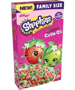 Kellogg's Shopkins Apple Strawberry Breakfast Cereal 13 oz