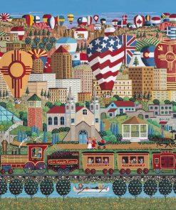 Albuquerque Express 750 Piece Puzzle