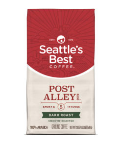 Seattles Best Coffee Post Alley Blend (Previously Signature Blend No. 5) Dark Roast Ground Coffee 20-Ounce Bag