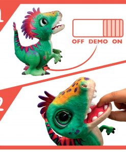 furReal Munchin Rex Baby Dino Pet, 35+ Sound and Motion Combinations