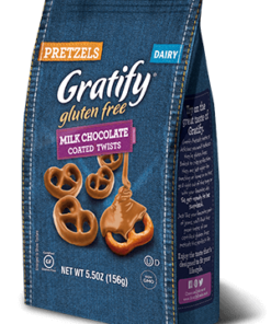 Gratify Gluten Free Milk Chocolate Covered Pretzel Twists, 5.5 Oz.
