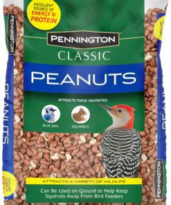 Pennington Classic Shelled Peanuts Wild Bird and Wildlife Feed, 5 lb. Bag