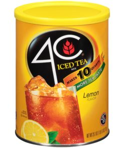 (3 Boxes) 4C Drink Mix, Lemon Iced Tea, 25.1 Oz, 1 Count