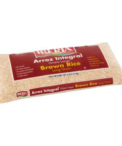 (2 Pack) Iberia Long Grain Brown Rice, 5 lb