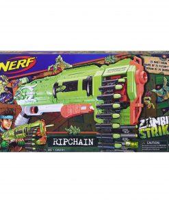 Nerf Zombie Strike Ripchain, Includes 25 Zombie Strike darts